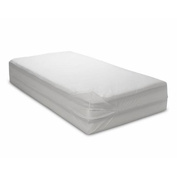 BedCare Economy 12 in. Deep Polypropylene Zippered Full Mattress Cover 199S-5475