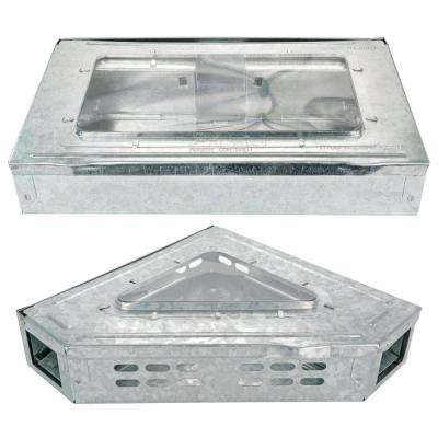 Humane Multi-Catch Clear Top Repeater Mouse Trap
