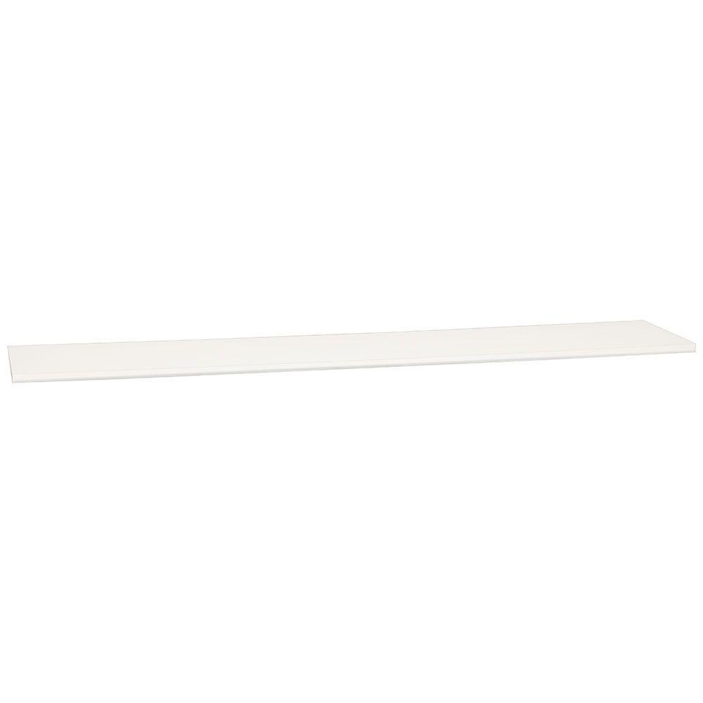 Hampton Bay 0.75x60x12 in. Universal End Panel in Satin White