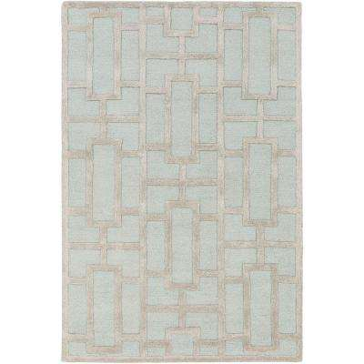 Arise Addison Powder Blue 9 ft. x 13 ft. Indoor Area Rug