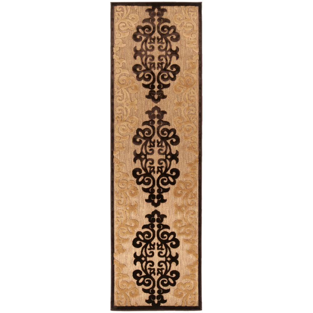 Artistic Weavers Ensenada Natural 2 ft. 6 in. x 7 ft. 10 in. Rug Runner