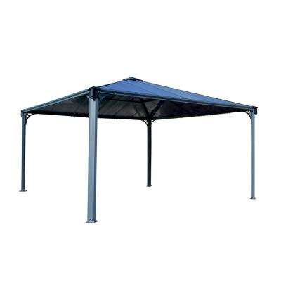 Palermo 14 ft. x 14 ft. Aluminum Frame and Hard Top Gazebo