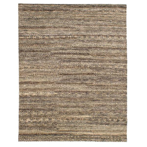 Solo Rugs Grit And Ground Tribal Bracelets Cream 10 Ft X 13 Ft Hand Knotted Area Rug Gg010101038 The Home Depot