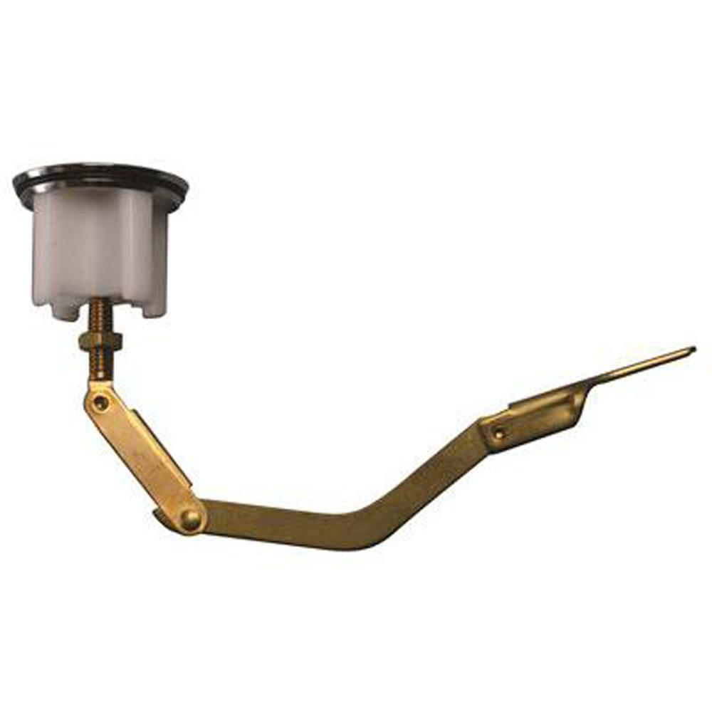 Central Brass Bathtub Drain Linkage Assembly With Plug
