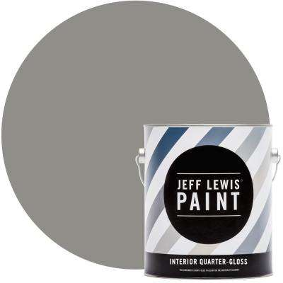 1 gal. #415 Gray Geese Quarter-Gloss Interior Paint