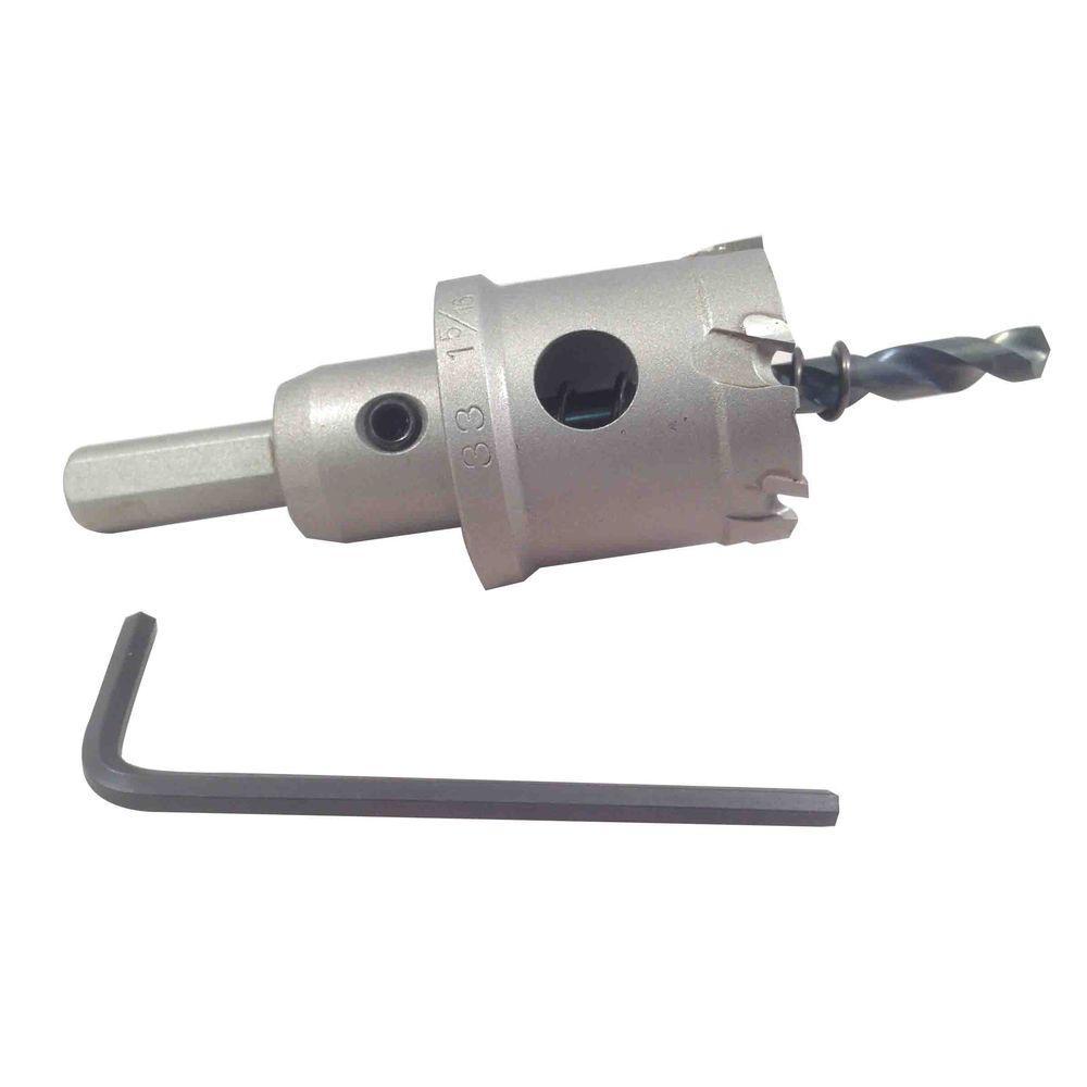 BLU-MOL 1-1/4 inch Xtreme Tri-Cut Tungsten Carbide Hole Cutter by BLU-MOL