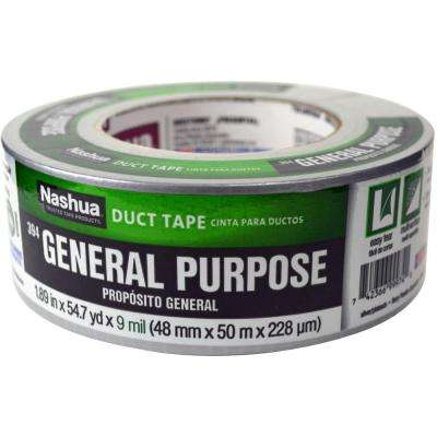 1.89 in. x 55 yd. 394 General Purpose Duct Tape in Silver