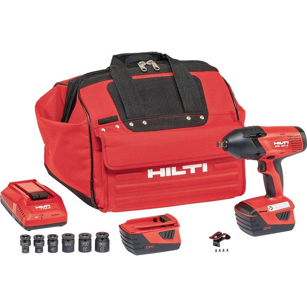 Hilti SIW 18-Volt Lithium-Ion 1/2 in. High Torque Cordless Impact Wrench