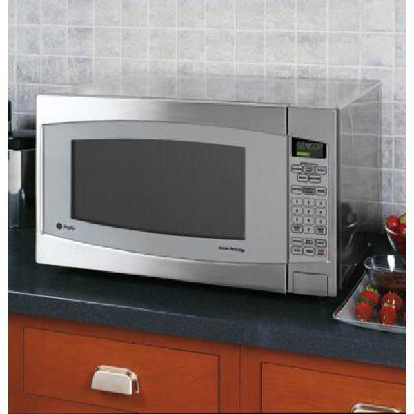 So Sku 614256 Ge Profile 2 Cu Ft Countertop Microwave In Stainless Steel