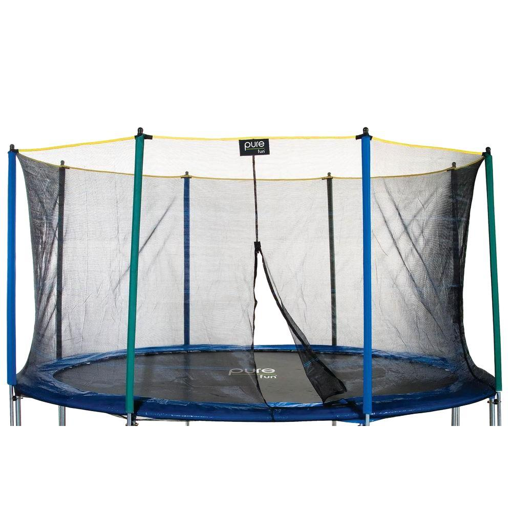 Pure Fun Enclosure Only for 12 ft. Trampoline