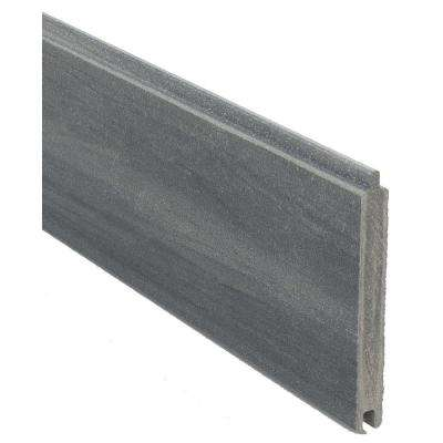 0.41 ft. H x 5.91 ft. W Euro Style Oxford Grey Tongue and Groove Composite Fence Board