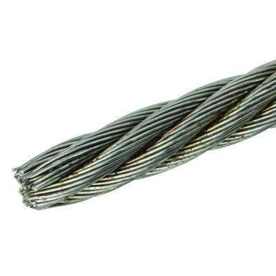 3/8 in. x 150 ft. Fiber Core Wire Rope