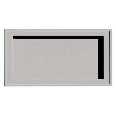 7.5 in. x 14.25 in. #016-Gray Recessed Jumbo Mounting Block