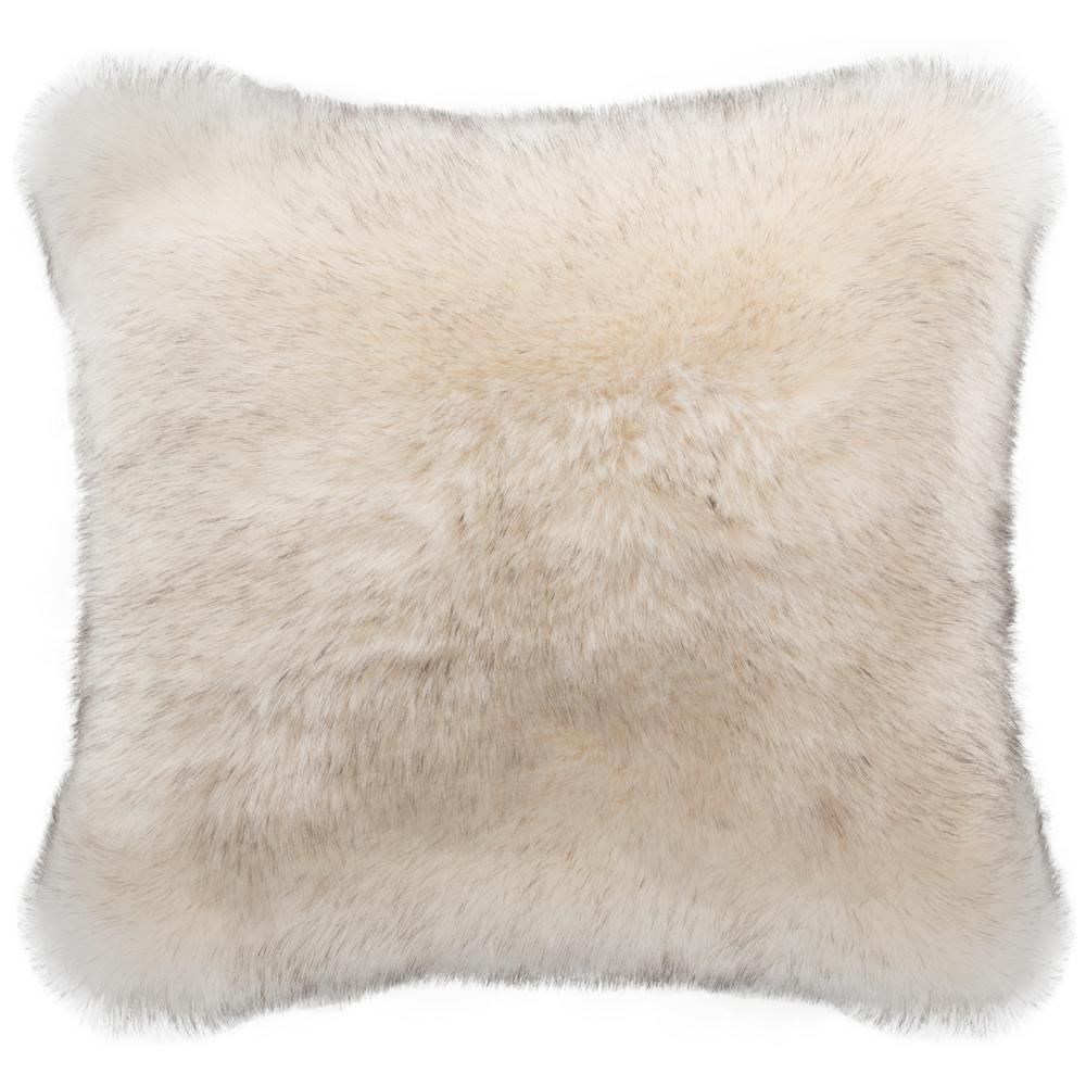 Safavieh Coco Tips Faux Plush Fur Pillow PLS728A-2020