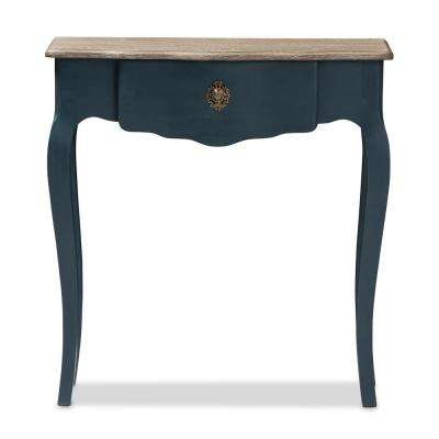 Mazarine Blue Console Table