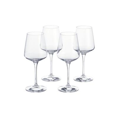 Genoa 15.5 oz. Lead-Free Crystal White Wine Glasses (Set of 4)