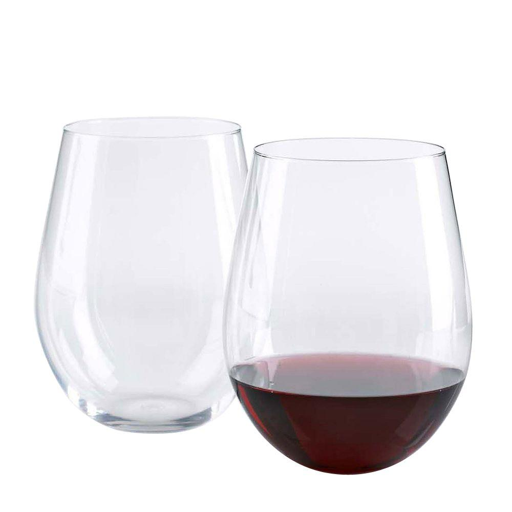 Wine Enthusiast 20 oz. U Cabernet Stemless Wine Glasses The perfect wine glass. Stemless Cabernet wine glasses are all the rage. These beautiful wine glasses are just what you're looking for.