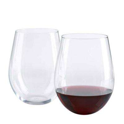 20 oz. U Cabernet Stemless Wine Glasses