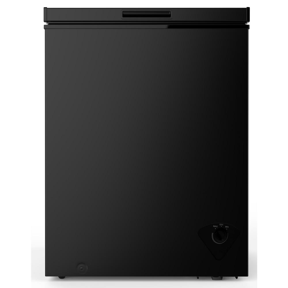 Magic Chef 5 0 Cu Ft Chest Freezer In Black Hmcf5b3 The Home Depot