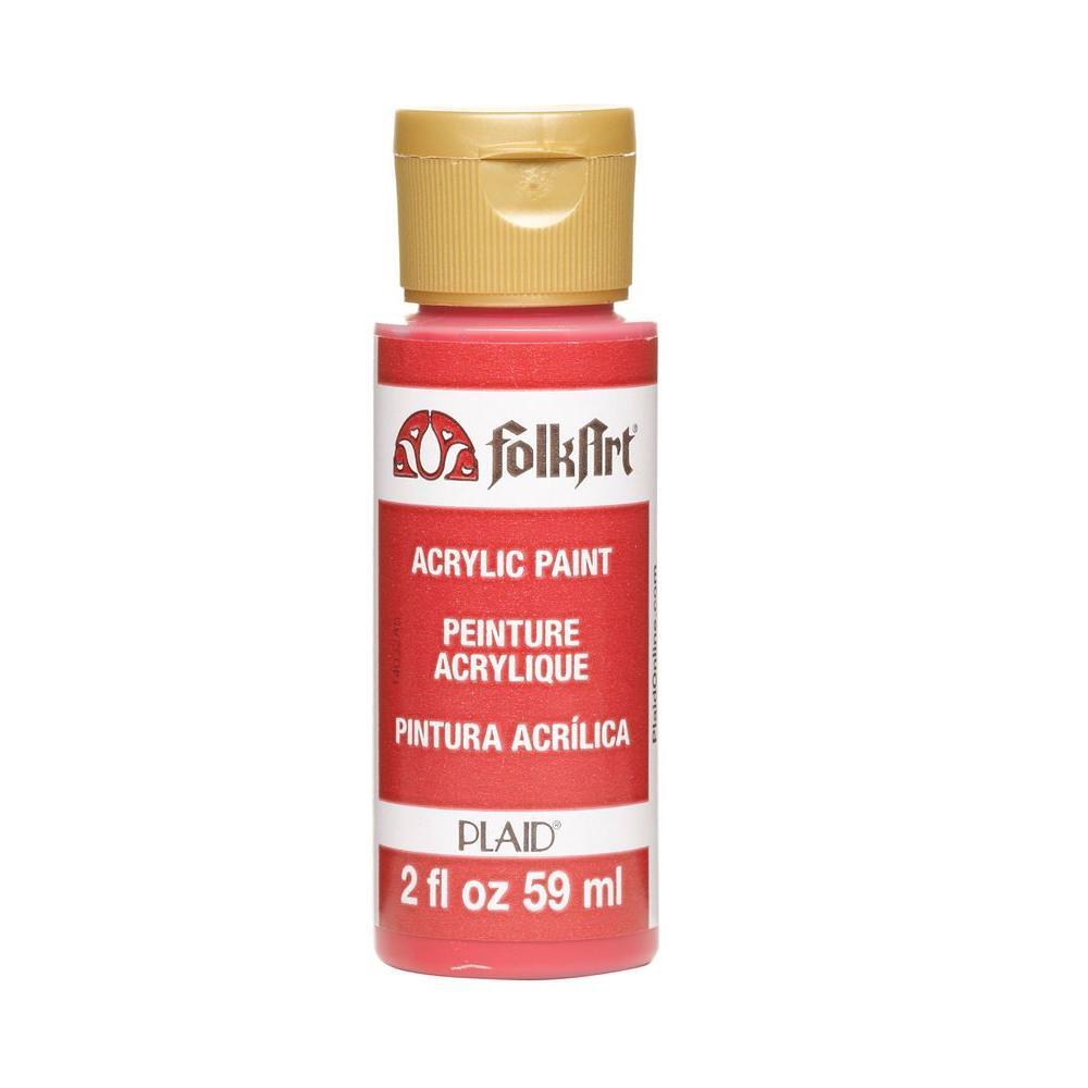 2 oz. Lipstick Red Acrylic Craft Paint