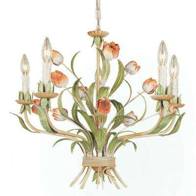 Filament design no shade brown chandeliers lighting the xavier 5 light nature chandelier aloadofball Gallery