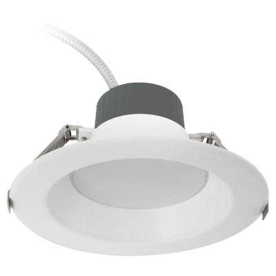 6 in. Selectable Lumen Color Temperature Dimmable Integrated LED Recessed Downlight Trim Wet Location CEC 120-277-Volt