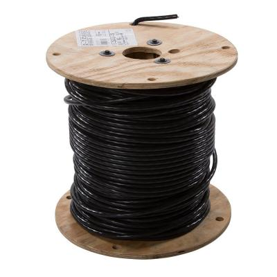 500 ft. 2 Black Stranded CU USE-2 Cable