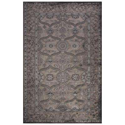 Machine Made Drizzle 5 ft. x 7 ft. 6 in. Oriental Area Rug