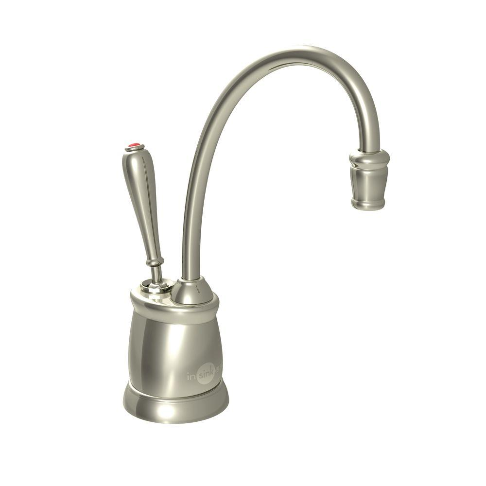 Marvelous InSinkErator Indulge Tuscan Single Handle Instant Hot Water Dispenser  Faucet In Polished Nickel