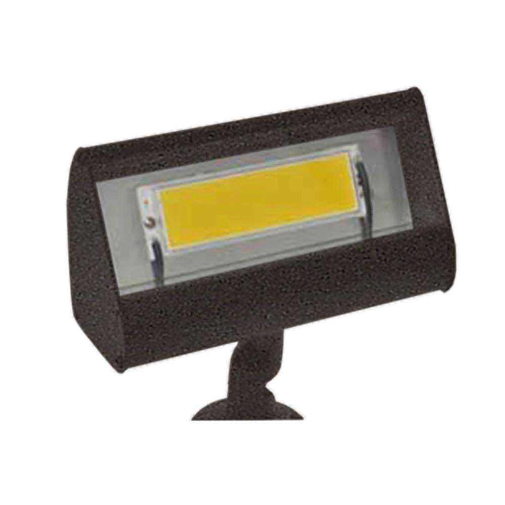 Centennial 1-Light Outdoor LED Bronze Textured Flood Light