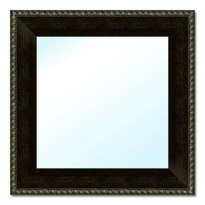 17-1/2 in. W x 17-1/2 in. H Polystyrene Framed Mirror