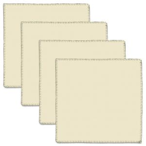 Sawyer Hill 21 in. W x 21 in. H Natural Cotton Napkins (Set of 4)