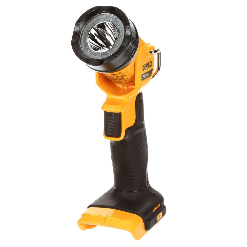 Dewalt 20 Volt Max Lithium Ion Led Worklight Dcl040 The