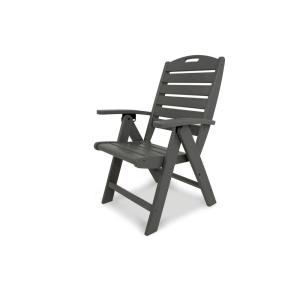 Trex Outdoor Furniture Yacht Club Stepping Stone Highback Patio Folding Chair by Trex Outdoor Furniture