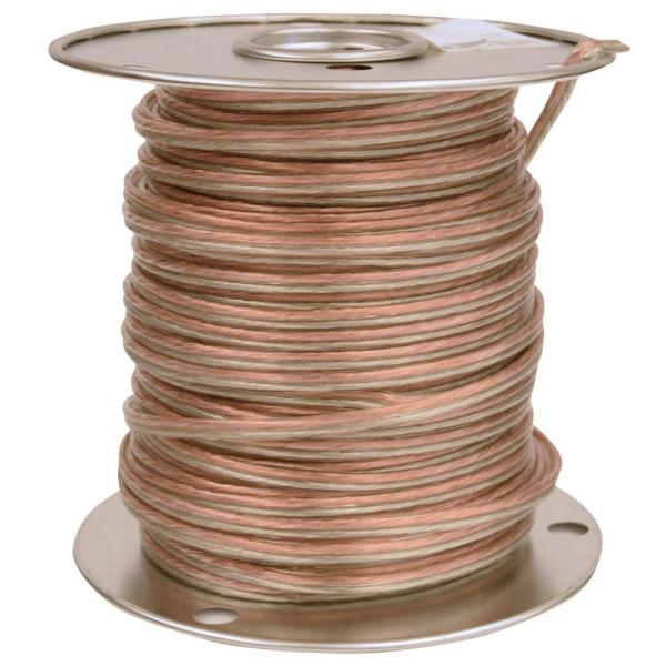 Southwire 250 Ft 16 2 Clear Stranded Cu Speaker Wire 55797644 The Home Depot