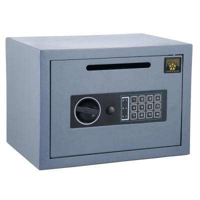 CashKing Digital Depository Safe 0.54 CF Cash Drop Safes Heavy Duty