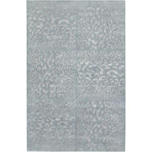 Surya Candice Olson Gray Blue 5 Ft. X 8 Ft. Area Rug DCT6500 58   The Home  Depot