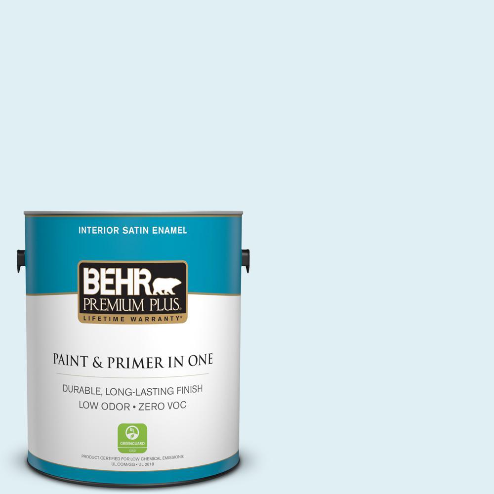 BEHR Premium Plus 1-gal. #M480-1 Helium Satin Enamel Interior Paint
