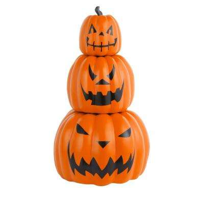 26.5 in. Halloween 3-Piece Stackable Jack-O-Lanterns