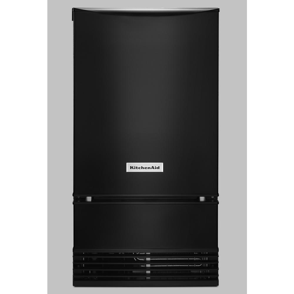KitchenAid 18 in. 50 lb. Built-In Ice Maker in PrintShield Black Stainless