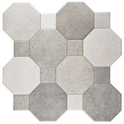 Imagine Cement 17-3/4 in. x 17-3/4 in. Ceramic Floor and Wall Tile (17.87 sq. ft. / case)