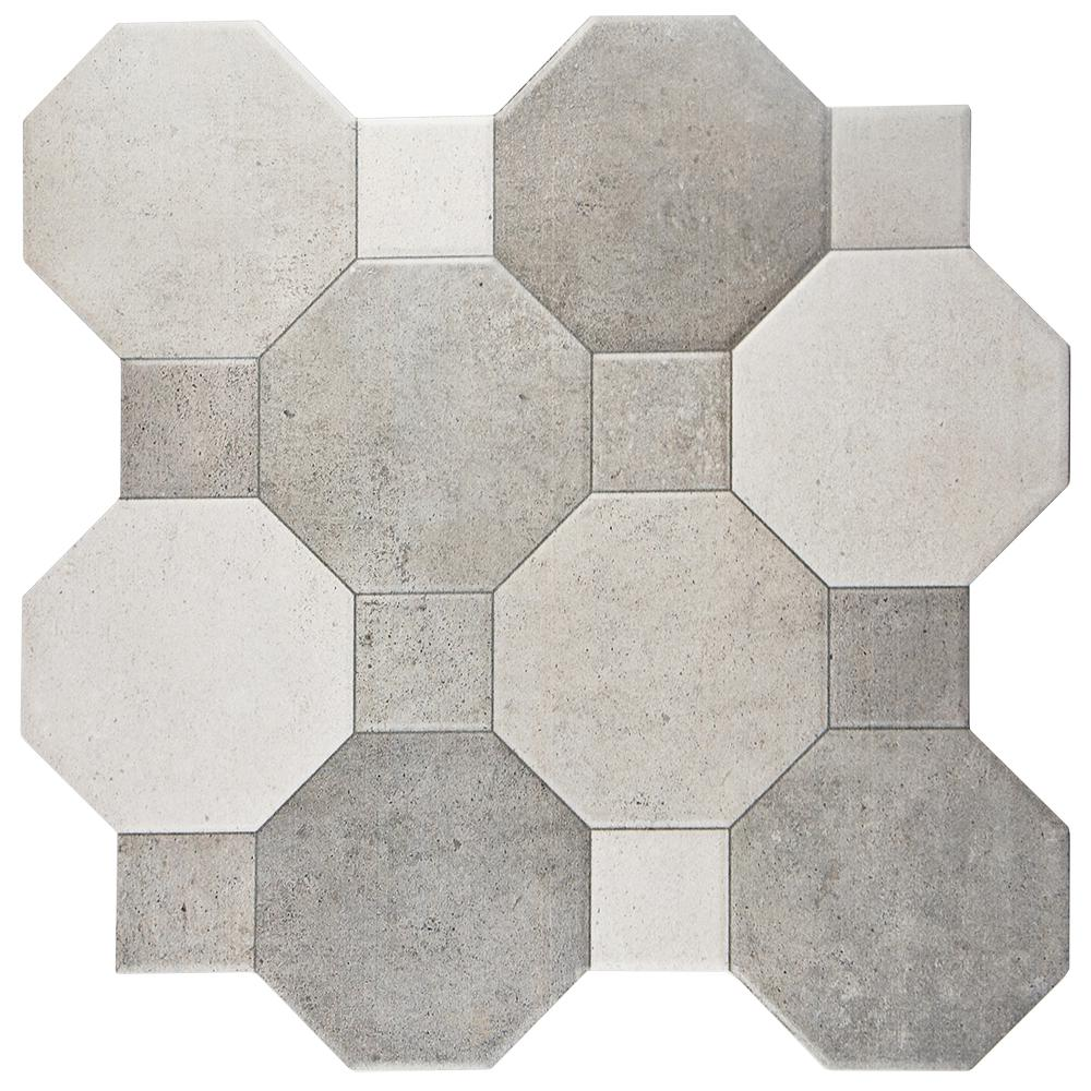 Merola Tile Imagine Cement 17 34 In X 17 34 In Ceramic Floor And