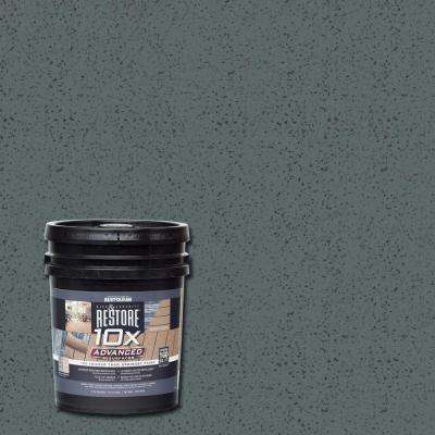 4 gal. 10X Advanced Pewter Deck and Concrete Resurfacer