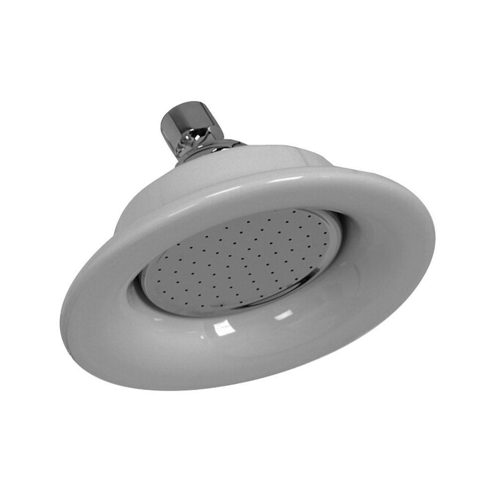 Barclay Products Sunflower 1 Spray 6 1/4 In. Showerhead In Chrome