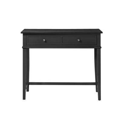 Queensbury Black Writing Desk