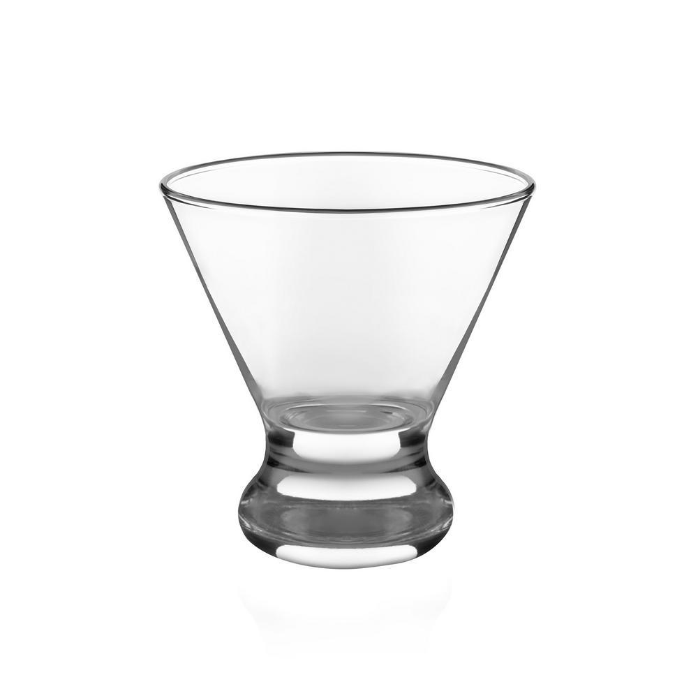 Cosmopolitan Party 8.25 oz. Glass Set (12-Piece)