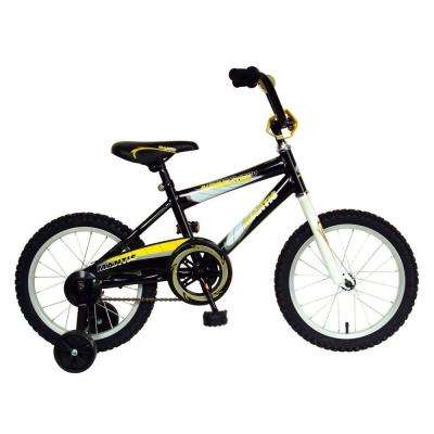 Burmeister Kid's Bike, 16 in. Wheels, 10.5 in. Frame, Boy's Bike in Black