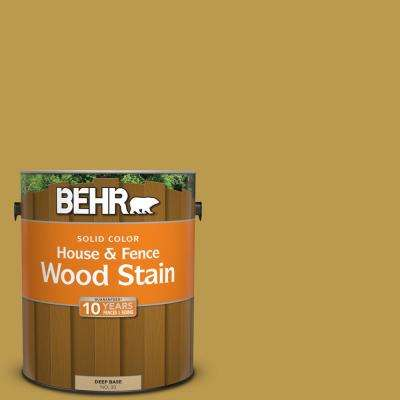 1 gal. #M320-6 Tangy Green Solid Color House and Fence Exterior Wood Stain