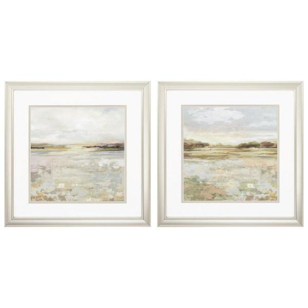 Homeroots Victoria Champagne Gold Color Gallery Frame Set Of 2 365271 The Home Depot