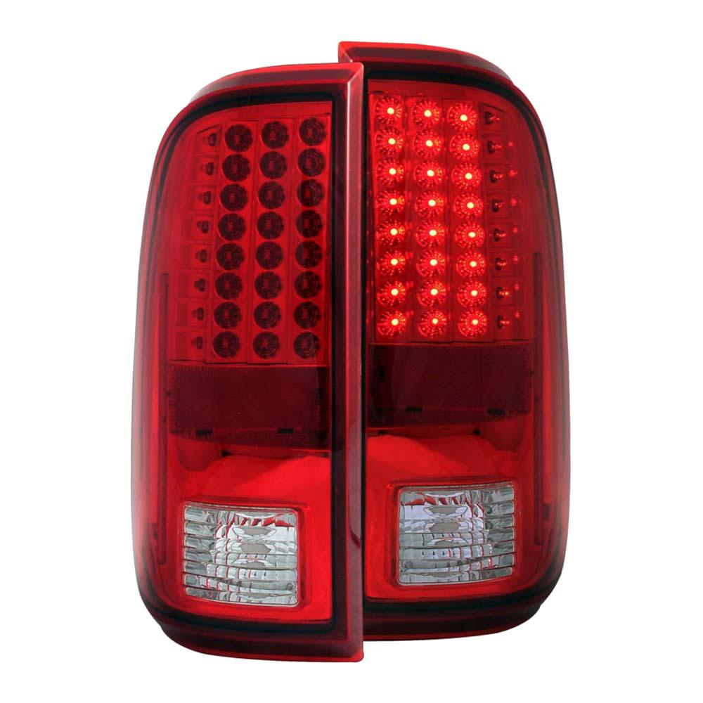 2008 2017 Ford F 250 Led Taillights Red Clear